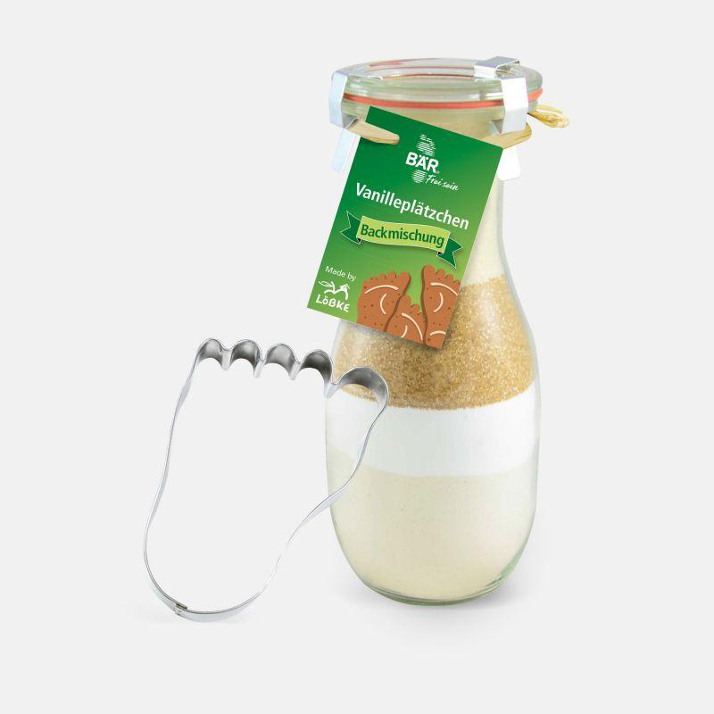 Backmischung Vanilleplätzchen - BÄR